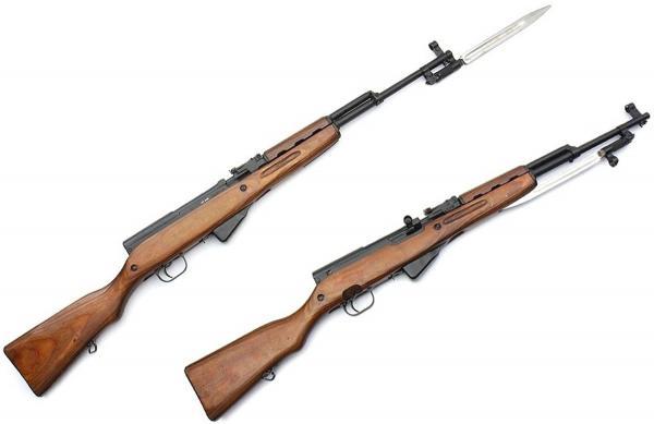 карабин Симонова (СКС 45) с клинковым штыком 02