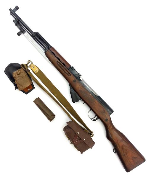 карабин Симонова (СКС 45) с клинковым штыком 43