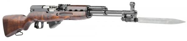 карабин Симонова (СКС 45) с клинковым штыком 03