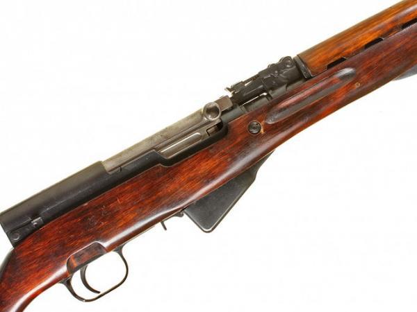 карабин Симонова (СКС 45) с клинковым штыком 13