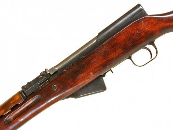 карабин Симонова (СКС 45) с клинковым штыком 16