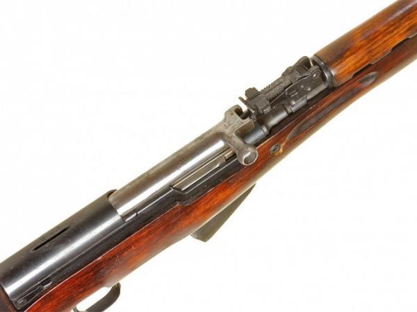 карабин Симонова (СКС 45) с клинковым штыком 18