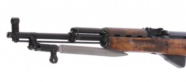 карабин Симонова (СКС 45) с клинковым штыком 21