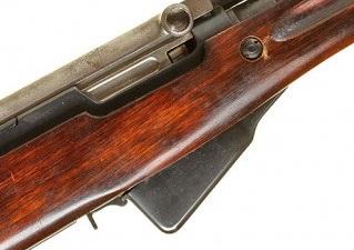 карабин Симонова (СКС 45) с клинковым штыком 13б