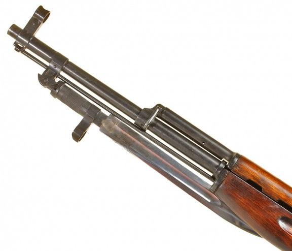 карабин Симонова (СКС 45) с клинковым штыком 20