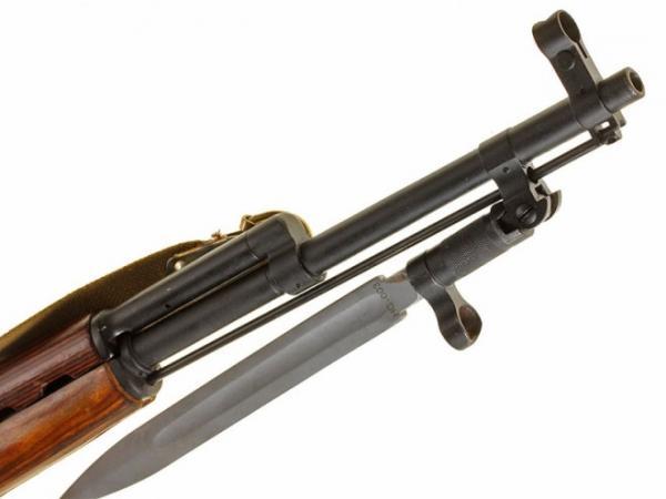 карабин Симонова (СКС 45) с клинковым штыком 34