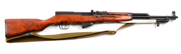карабин Симонова (СКС 45) с клинковым штыком 41