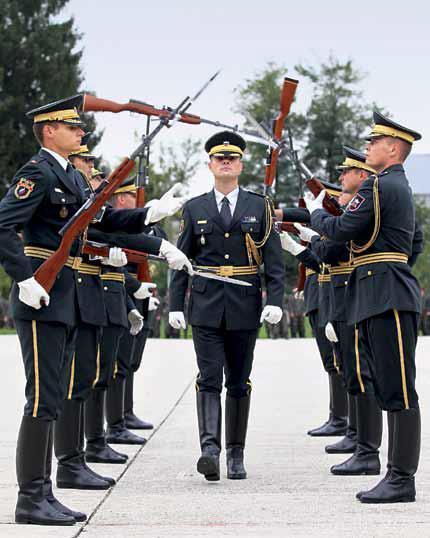 Show pogram Garde Slovenske vojske (1)