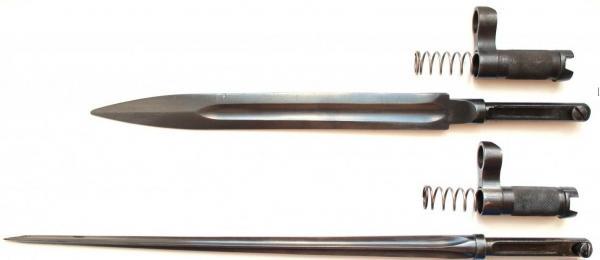 штыков СКС с ножевидным и игольчатым клинком 01