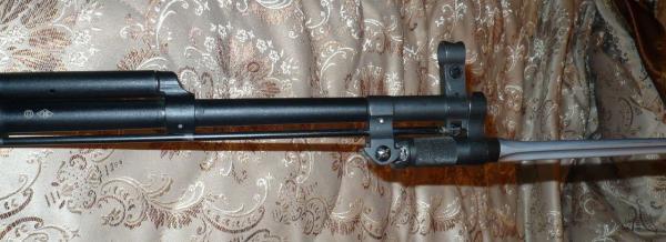 карабин Симонова (СКС 45) с игольчатым штыком в боевом положении 04