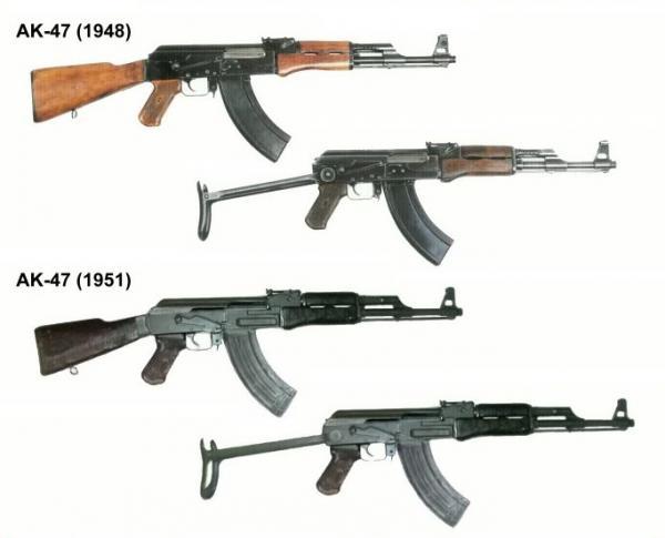 Калашникова АК 1948 и 1951 года 01