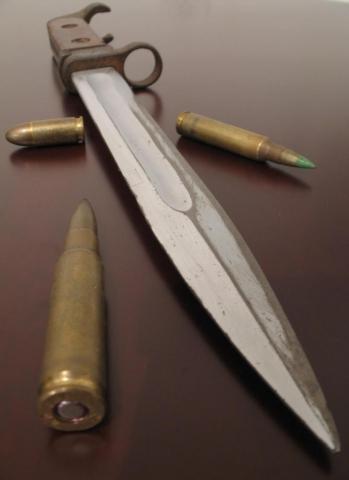 нож 6Х2 к автоматам АК и АКС 05