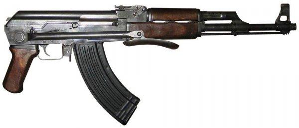 Калашникова со складным прикладом АКС (1954 1959 гг.) 01