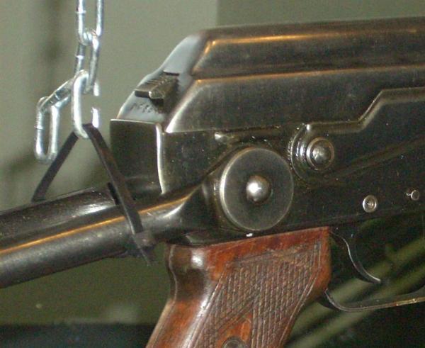 Калашникова со складным прикладом АКС 12