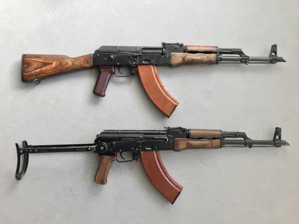 Калашникова АКМ и АКМС (02)