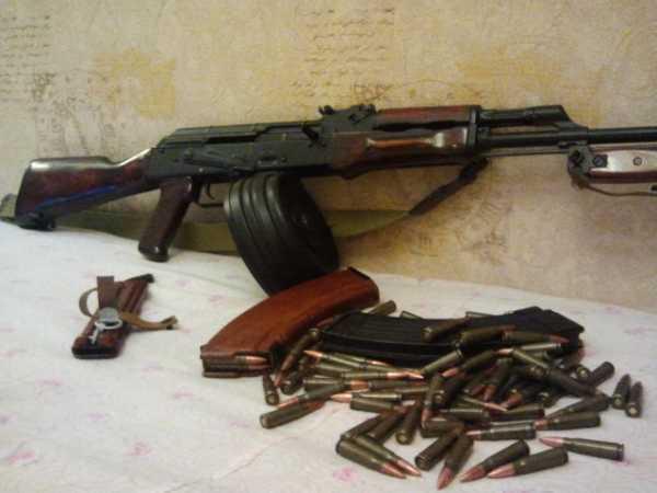 АКМ с магазином на 75 патронов от РПК (02)