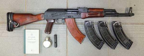 Калашникова модернизированный (АКМ) 05