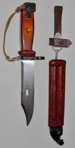 клинковый штык нож 6Х4 к автоматам АКМ и АК 74 01