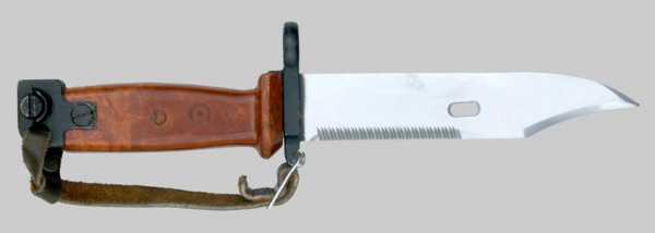копия советского штык ножа 6Х4 к автоматам АКМ и АК 74 01