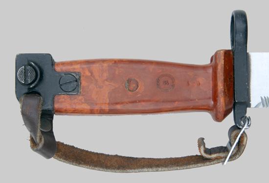 копия советского штык ножа 6Х4 к автоматам АКМ и АК 74 02