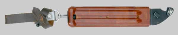 копия советского штык ножа 6Х4 к автоматам АКМ и АК 74 05