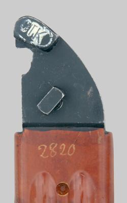 копия советского штык ножа 6Х4 к автоматам АКМ и АК 74 06