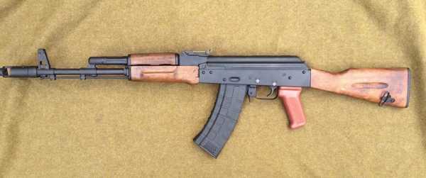 автоматический карабин Калашникова АКК 74 03