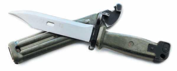 нож 6Х4 из комплекта наградного автомата АКМ ддля пораничников, 1973 74 гг., «Ижмаш» 01