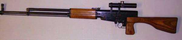 7,62 мм опытная снайперская винтовка Симонова СВС 01