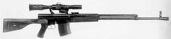 7,62 мм опытная снайперская винтовка Симонова СВС 02