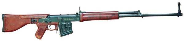7,62 мм опытная снайперская винтовка 2Б В 10 конструкции Константинова 02