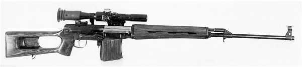 7,62 мм опытная снайперская винтовка СВ 58 конструкции Е.Ф. Драгунова (01)