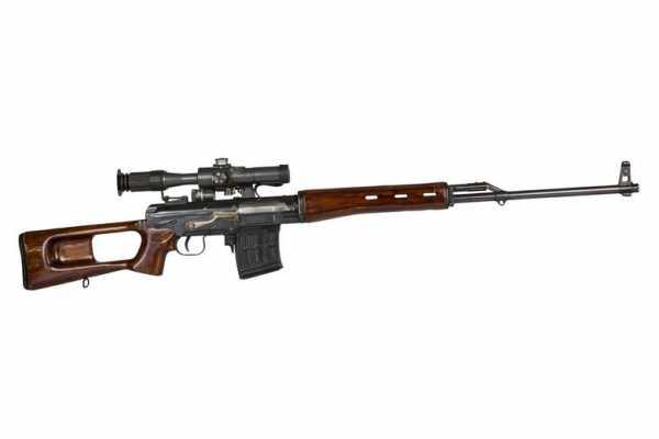 7,62 мм опытная снайперская винтовка СВ 58 конструкции Е.Ф. Драгунова (02)
