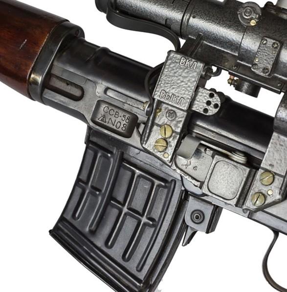 7,62 мм опытная снайперская винтовка СВ 58 конструкции Е.Ф. Драгунова (06)