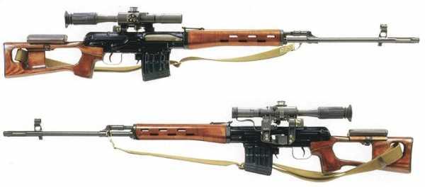 винтовка Драгунова (СВД) 03