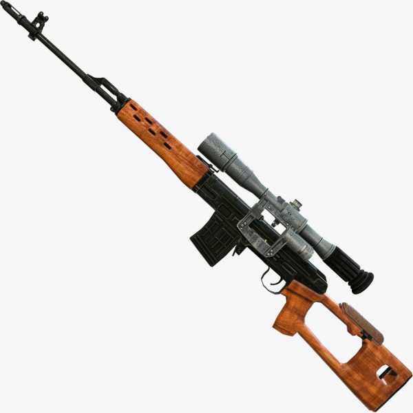 винтовка Драгунова (СВД) 12