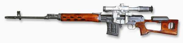 винтовка Драгунова (СВД) 06