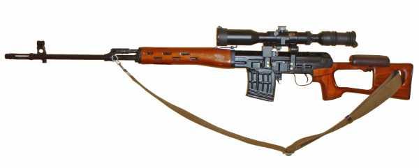 винтовка Драгунова (СВД) 04