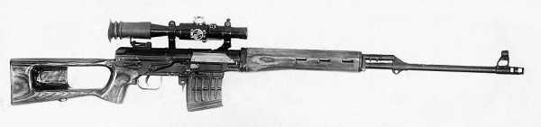 винтовка ССВ 58 от повторных полигонных испытаний 01