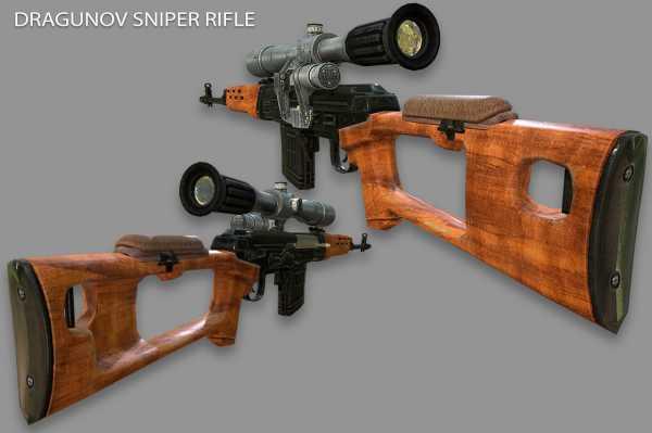 винтовка Драгунова (СВД) 15