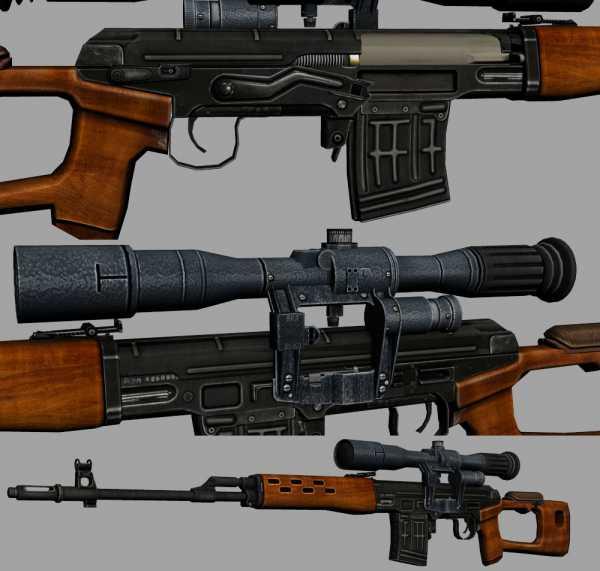 винтовка Драгунова (СВД) 16
