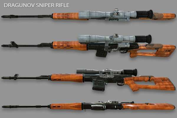 винтовка Драгунова (СВД) 14