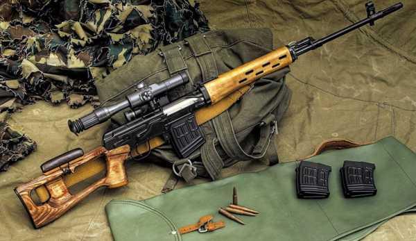 винтовка Драгунова (СВД) 20