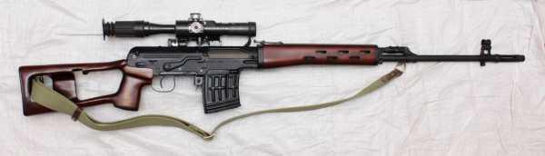 винтовка Драгунова (СВД) 30