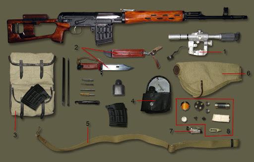винтовка Драгунова (СВД) 31