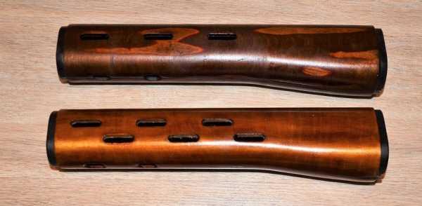 ствольные накладки винтовки СВД. Варианты 01