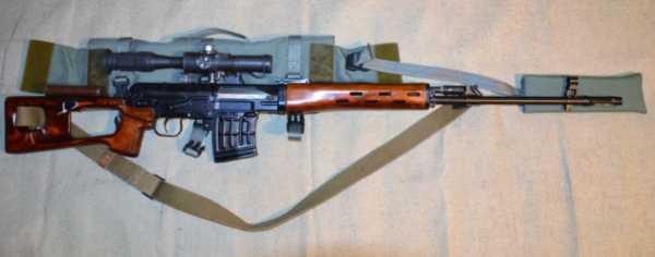 винтовка Драгунова (СВД) 34