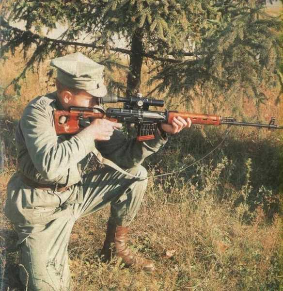 снайпер с СВД 01