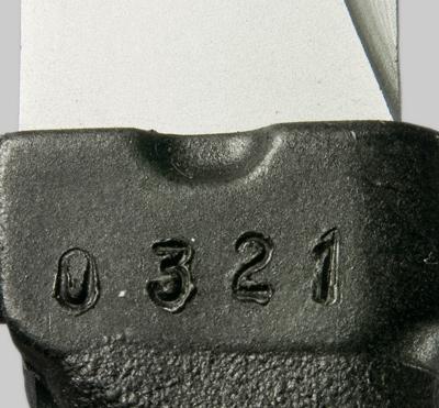 копия советского штык ножа обр. 1989 года 6Х5 к автомату АК 74 05