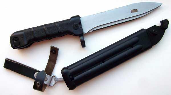 штык нож 6Х5 к автомату АК 74 01